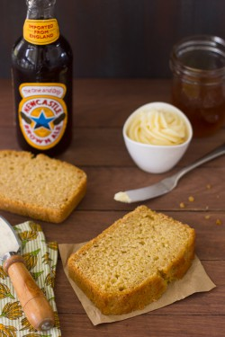 Honey and Beer Cornbread with Honey Butter Recipe
