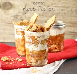 Ice Box Apple Pie Jars Recipe