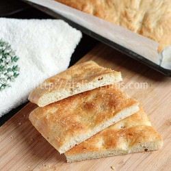 Italian Pizza Bianca Bread Recipe