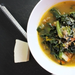 Italian Sausage and Tuscan Kale Soup Recipe