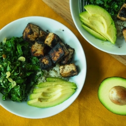 Jamaican Jerk Tofu Bowl Recipe