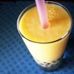 Jasmine Mango Bubble Tea