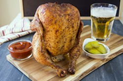 Juicy Beer Can Chicken