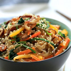 Korean Stir-Fried Noodles