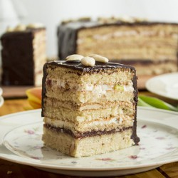 Layered Easter Cake