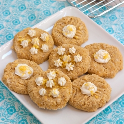 Lemon Ricotta Breakfast Cookies