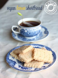 Lemon Shortbread Recipe