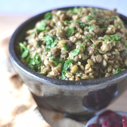 Lentil Salad with Egyptian Spices
