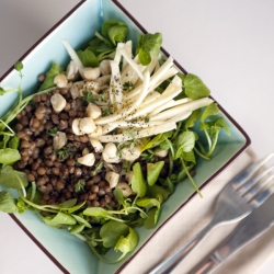 Lentils, Parsnip and Watercress