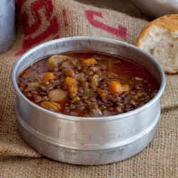 Lentils with Pumpkin