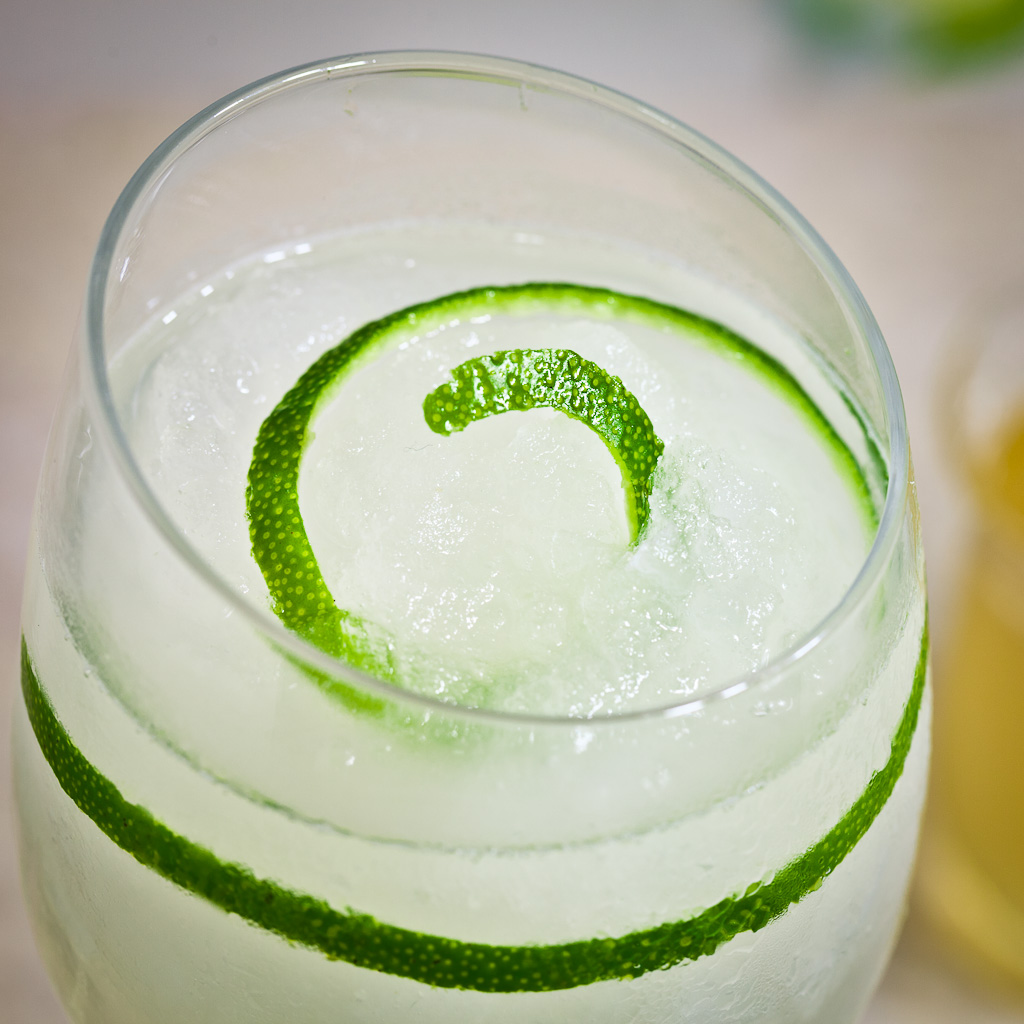 Lime Ginger Fizz
