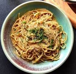 Linguine with Sea Urchin Roe Sauce Recipe