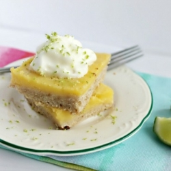 Luscious Lime Bars