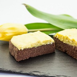 Mango Cream Brownies
