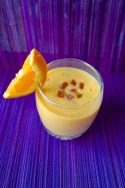 Mango Orange Date Smoothie
