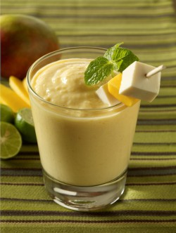 Mango Smoothie with Tofu