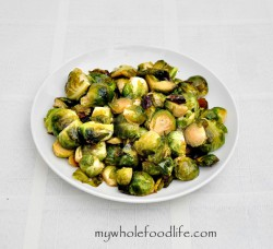 Maple Glazed Brussels Sprouts Recipe