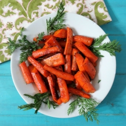 Maple Glazed Roasted Carrots Recipe