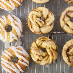 Maple Twisted Doughnuts Recipe