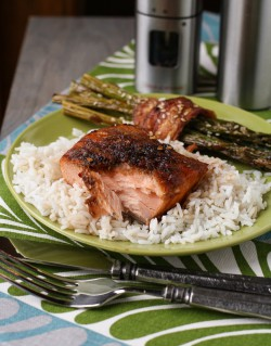 Maple-Ginger Salmon