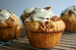 Maple-Glazed Bacon Muffins