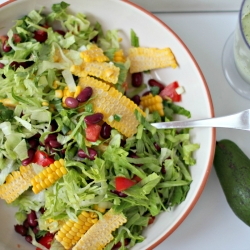 Mexican Chopped Salad with Mexican