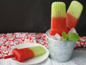 Minty Melon Pops