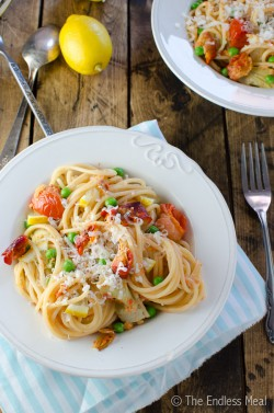 20 Minute Smoked Salmon Pasta