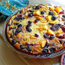 Mixed Fruit Flaugnarde