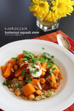 Moroccan Butternut Squash Stew Recipe