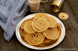 Murukku Indian Fried Snacks Recipe