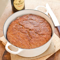 No-Knead Guinness Stout Bread