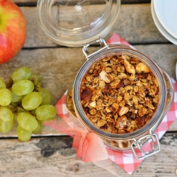 Orange Cinnamon Granola