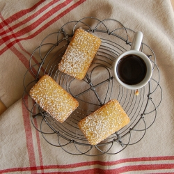 Orange Cornmeal Financiers Recipe