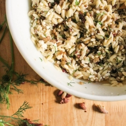 Orzo and Lentil Salad Recipe