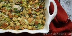 Oyster Stuffing with Shiitake Mushrooms and Leeks Recipe