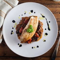 Pan Fried Tilapia and Ratatouille Recipe