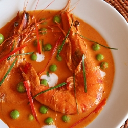 Panang Curry – Prawns