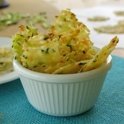 Parmesan Cheese Vegetable Crisps