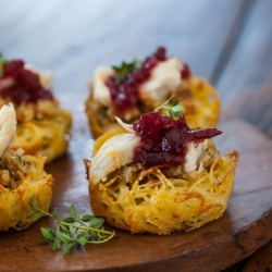 Pasta Nests Appetizer Recipe