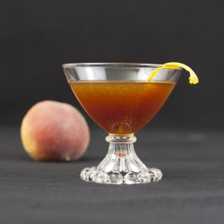 Peach Black Manhattan