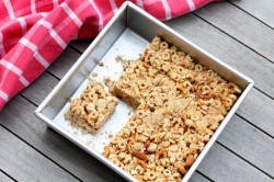 Peanut Almond Snack Bars Recipe
