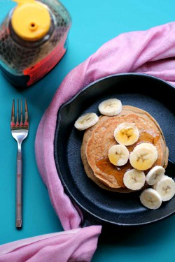 Peanut Butter Cookie Pancakes Recipe