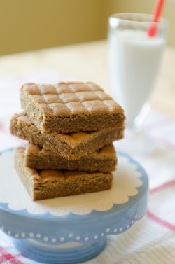 Peanut Butter Cookie Squares
