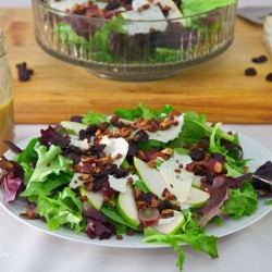 Pear Salad with Citrus Dressing