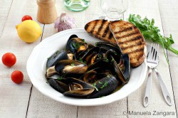 Peppered Mussels Recipe