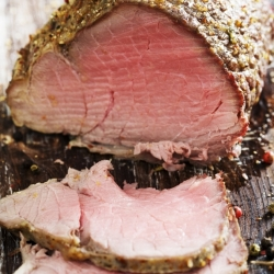 Pepper-Herb Crusted Roast Beef