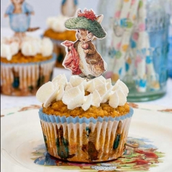 Peter Rabbit Carrot Cupcakes
