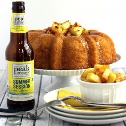 Pineapple Pale Ale Bundt Cake