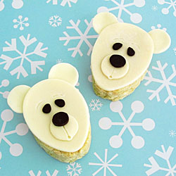 Polar Bear Rice Krispies Treats